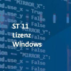 ST 11 Lizenz Windows: SCADA-Server für Win10