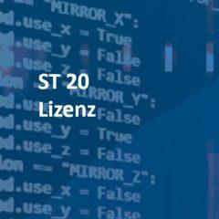 ST 20 Lizenz:  SCADA-Server mit SpiderPLC alle Plattformen