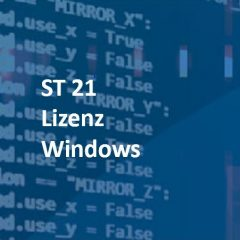 ST 21 Lizenz Windows: SCADA-Server für Win10