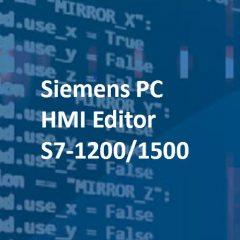 Siemens PC HMI Editor S7-1200/1500